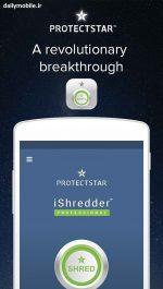 حذف دائمی تمام فایل ها و اطلاعات گوشی اندروید برای همیشه با نرم افزار iShredder