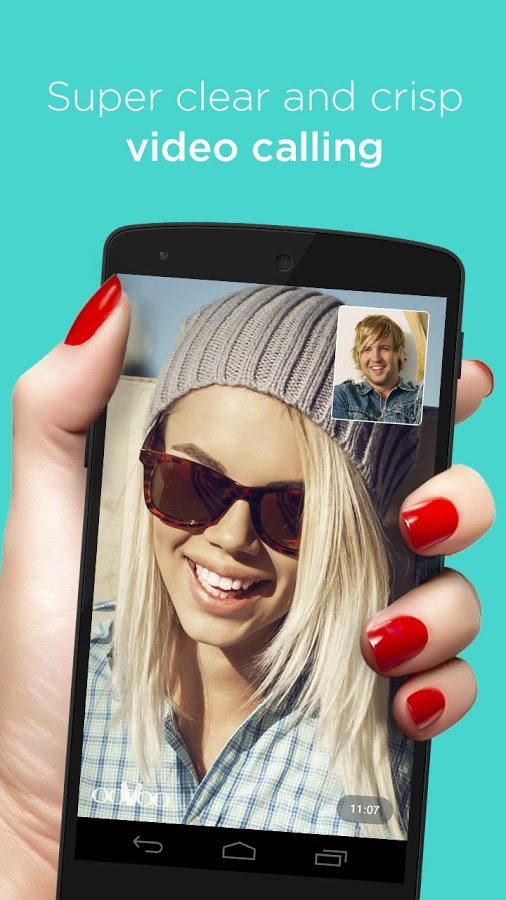 دانلود مسنجر جدید و کاربردی ooVoo Video Call, Text & Voice اندروید