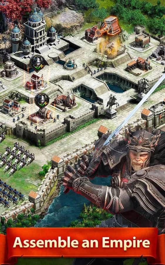 دانلود بازی استراتژیک و زیبای Clash of Kings برای اندروید