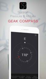 دانلود نرم افزار قطب نما برای اندروید GEAK Compass