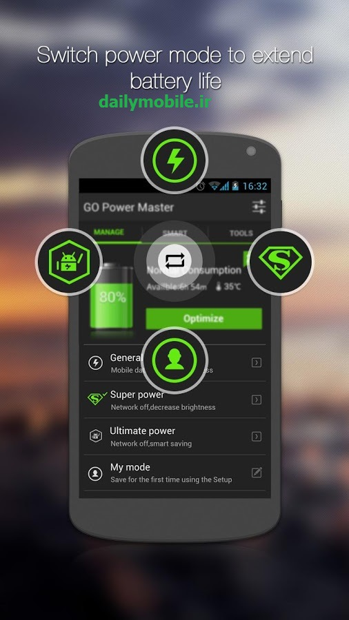 GO Battery Saver &Power Widget 5.0