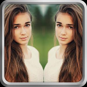 دانلود نرم افزار فوق العاده ساخت تصاویر آینه ای Mirror Image Photo Editor Pro اندروید
