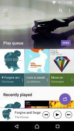 دانلود نرم افزار فوق العاده موزیک سونی برای اندروید Music