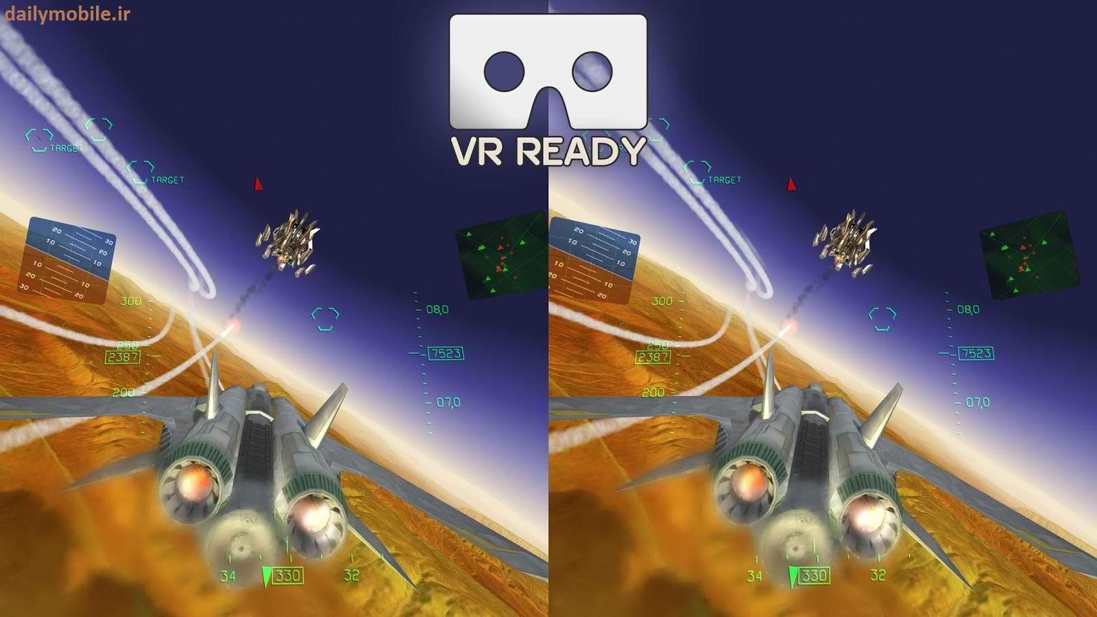 دانلود بازی جدید و زیبای Fractal Combat X هواپیماهای جنگده برای اندروید