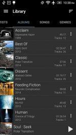 دانلود پلیر صوتی GoneMAD Music Player برای اندروید