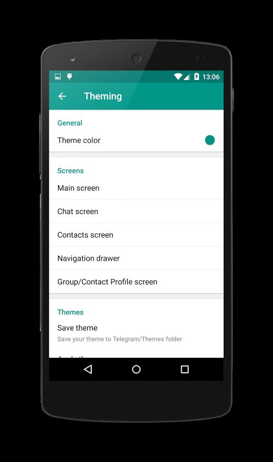 دانلود تلگرام هنری برای اندروید دانلود نسخه جدید تلگرام پلاس اندروید - Telegram+ plus android