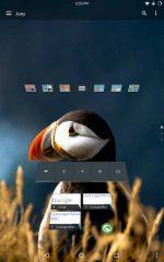 دانلود لانچر شیشه ای برای اندروید Lucid Launcher Pro