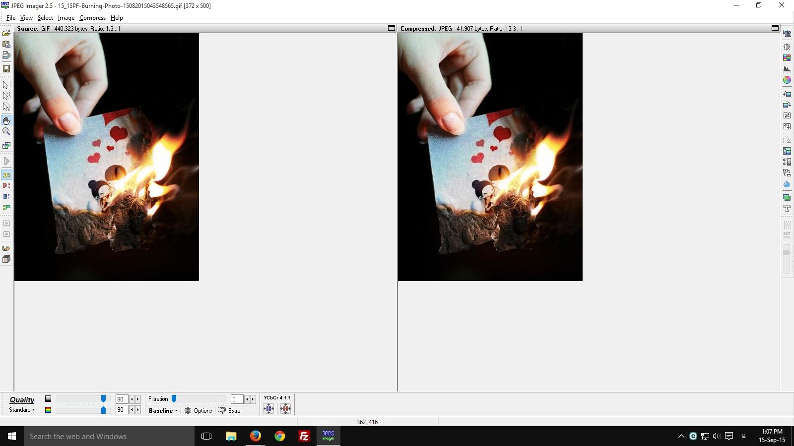 دانلود نرم افزار کاهش حجم تصاویر JPEG Imager