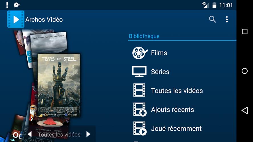 دانلود آخرین ورژن ویدیو پلیر حرفه اندروید Archos Video Player