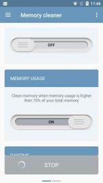 دانلود برنامه اندروید پاک كردن رم بصورت خودكار Auto Memory Cleaner