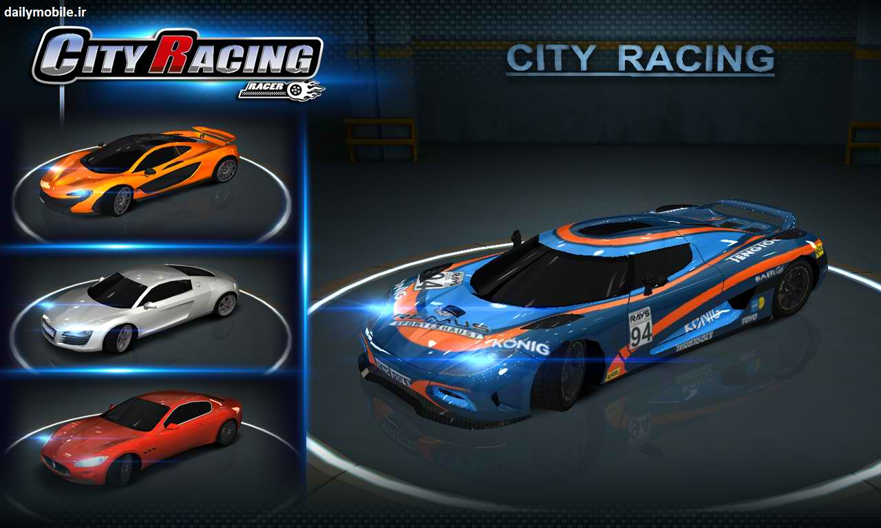 Image currently unavailable. Go to www.generator.cluehack.com and choose City Racing 3D image, you will be redirect to City Racing 3D Generator site.