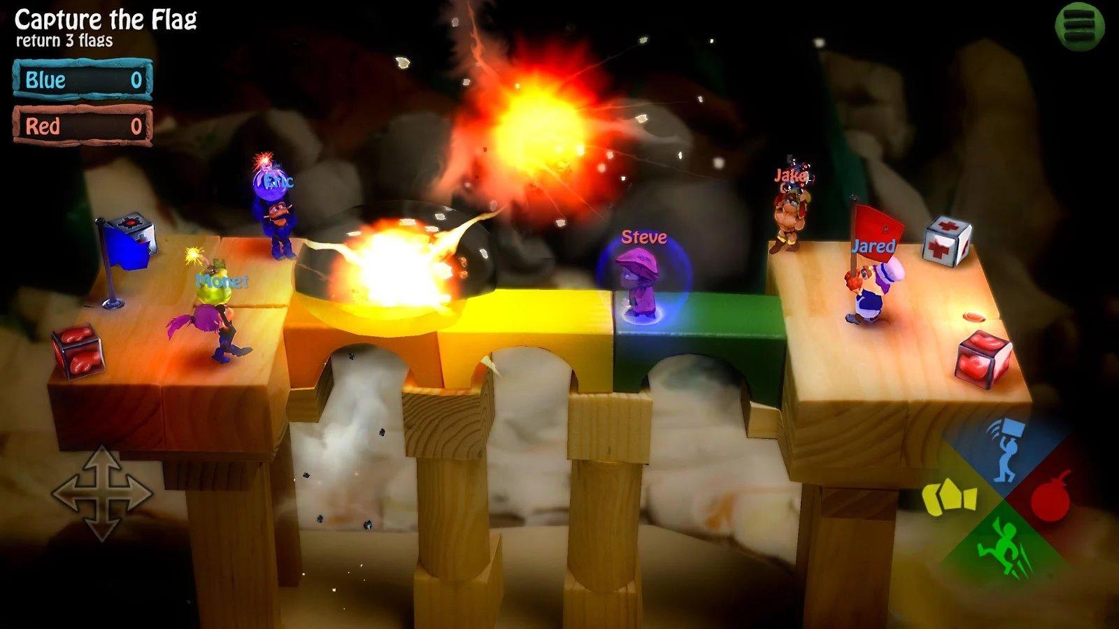 دانلود بازی جدید BombSquad برای آندروید