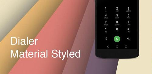 دانلود برنامه تغییر بخش تماس ها در اندروید Material Design Dialer