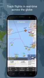 دانلود نرم افزار مفید و کاربردی نمایش اطلاعات پروازها اندروید Flightradar24 Pro