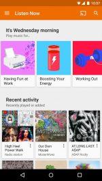 دانلود موزیک پلیر گوگل برای اندروید Google Play Music