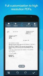 دانلود نرم افزار ساخت و اسکن فایل PDF از اسناد اندروید Quick PDF Scanner Pro
