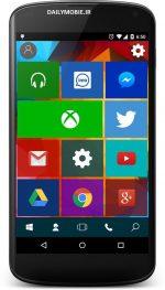 دانلود لانچر ویندوز 10 برای اندروید Win 10 Launcher : Pro