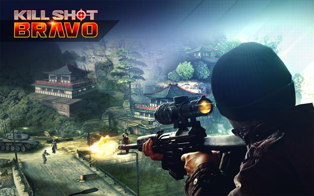 دانلود بازی زیبای شلیک مرگبار برای اندروید Kill Shot Bravo