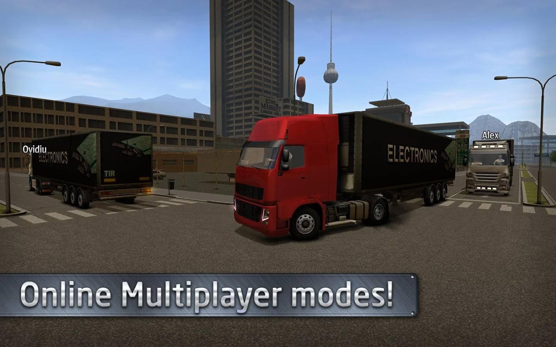 دانلود بازی جدید شبیه ساز رانندگی کامیون Euro Truck Driver اندروید