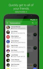 دانلود نرم افزار مدیریت پیام EvolveSMS برای اندروید