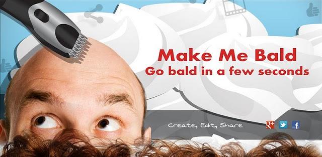 دانلود نرم افزار سرگرم کننده منو کچل کن برای اندروید Make Me Bald