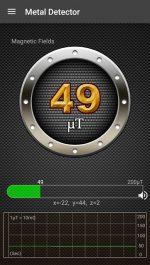 دانلود نرم افزار کاربردی فلزیاب برای اندروید Metal Detector