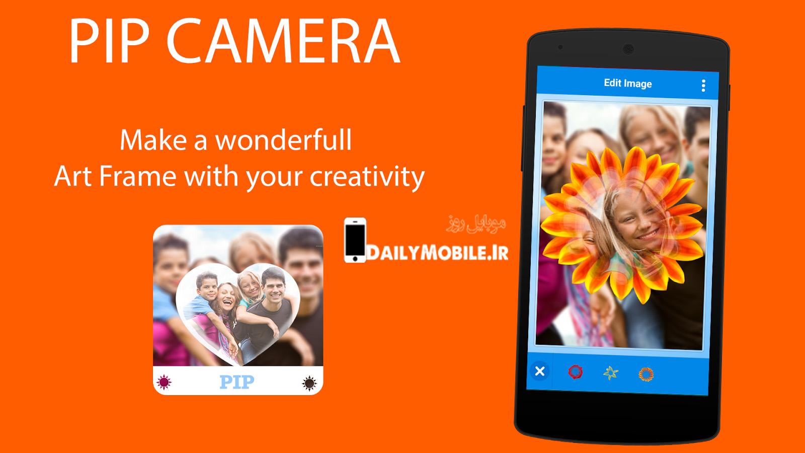 دانلود نرم افزار ویرایش عکس PIP Camera-Photo Editor Pro اندروید