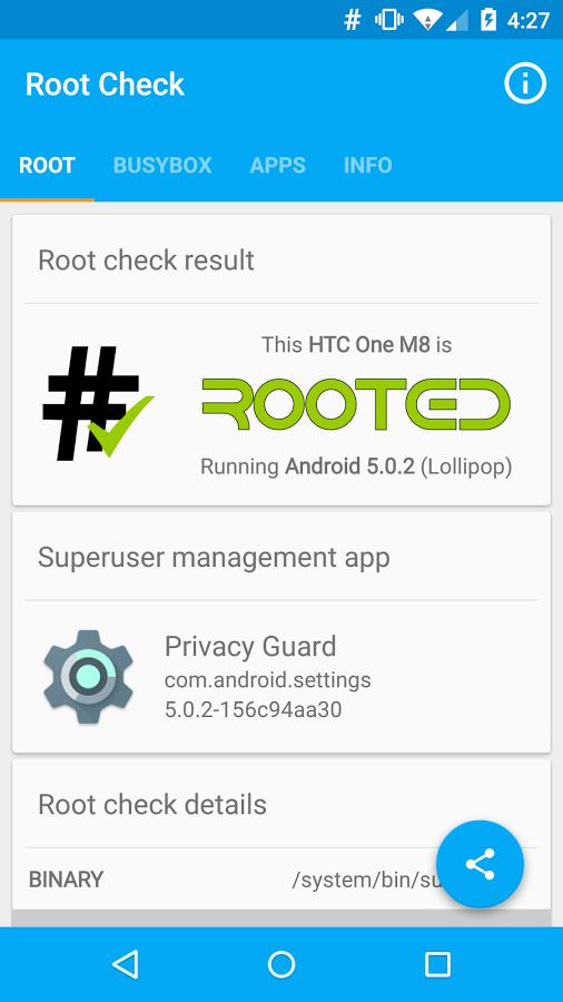 دانلود نرم افزار بررسی و تشخیص روت بودن گوشی اندرویدی Root Check Premium