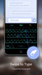 دانلود کیبورد تاچ پال اندروید TouchPal - Cute Emoji Keyboard