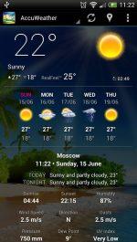 دانلود نرم افزار کاربردی هواشناسی برای اندروید Weather Now
