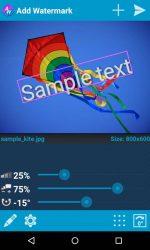 دانلود برنامه اضافه کردن واترمارک به تصاویر Add Watermark