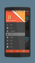 دانلود پکیج آیکون های اندروید Belle UI (Donate) Icon Pack