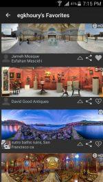 دانلود نرم افزار گرفتن تصاویر پانوراما برای اندروید DMD Panorama Pro