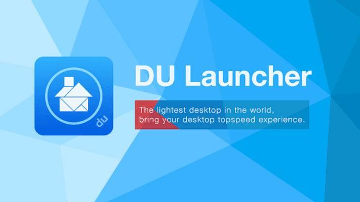 دانلود لانچر زیبا و کم حجم DU Launcher - Boost Your Phone اندروید