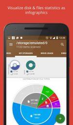 دانلود برنامه آناليز اطلاعات حافظه اندرويد Disk & Storage Analyzer [PRO]