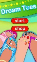 دانلود بازی زیبای دخترانه Dress up - Dream Toes اندروید