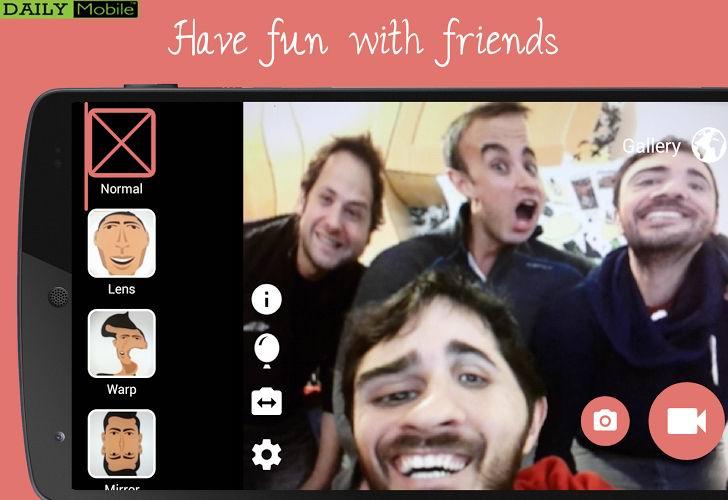 ایجاد تصاویر و ویدیو های خنده دار در اندروید توسط Funny Camera - Video Booth Fun