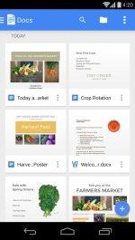 دانلود برنامه ذخیره اسناد گوگل Google Docs اندروید با لینک مستقیم