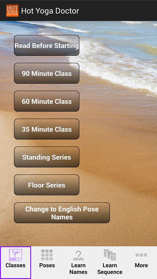 کلاس های آموزشی یوگا در اندروید Hot Yoga Doctor - Yoga Classes