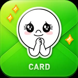 نرم افزار ساخت کارت پستال لاین در اندروید LINE Card