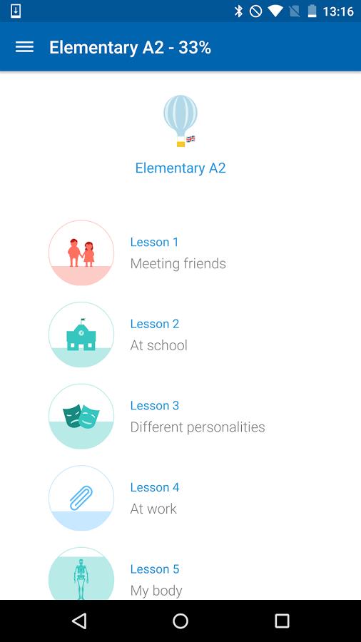 برنامه آموزش زبان اندروید busuu - Easy Language Learning