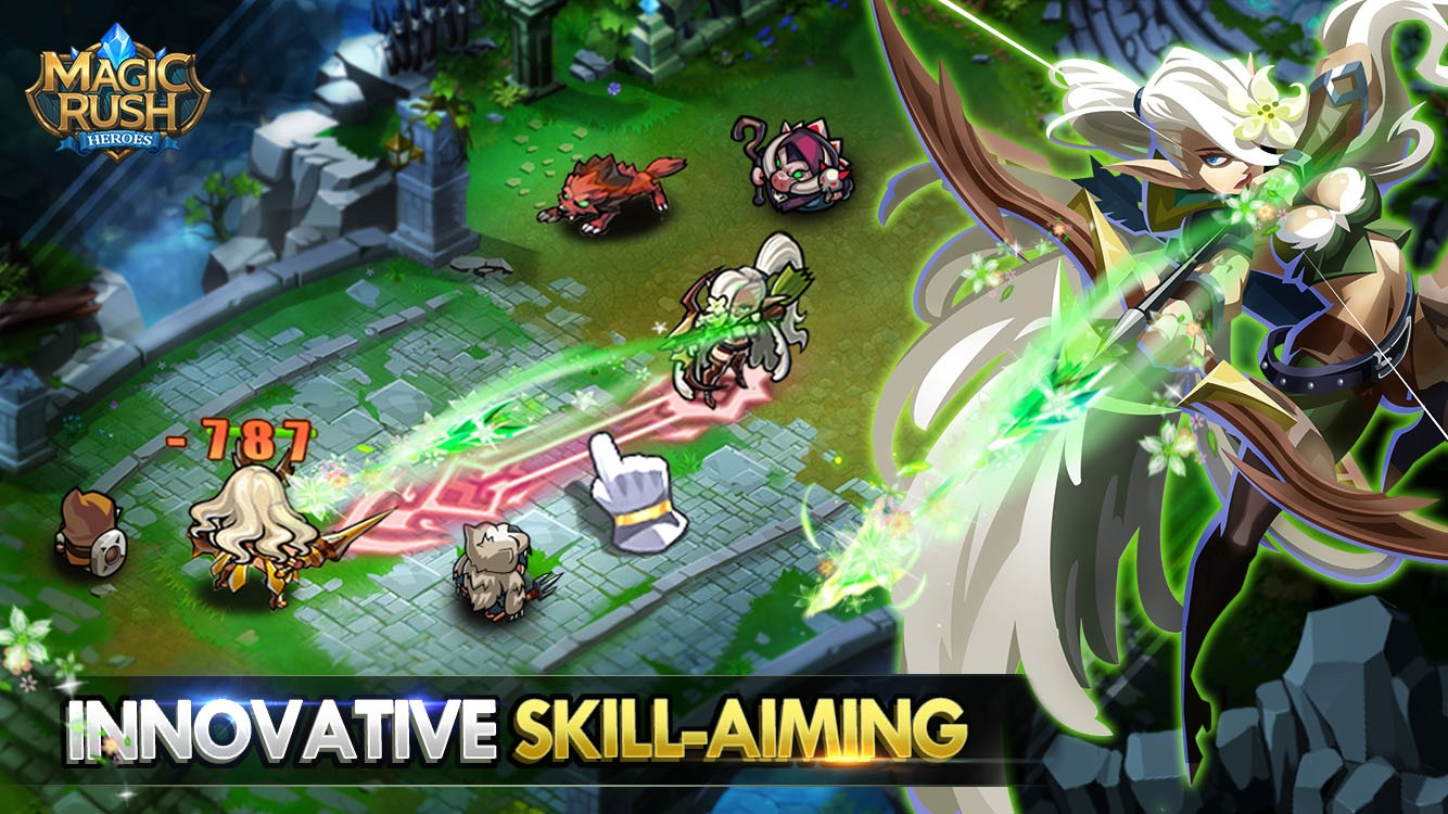 دانلود بازی آنلاین و استراتژیک Magic Rush: Heroes اندروید