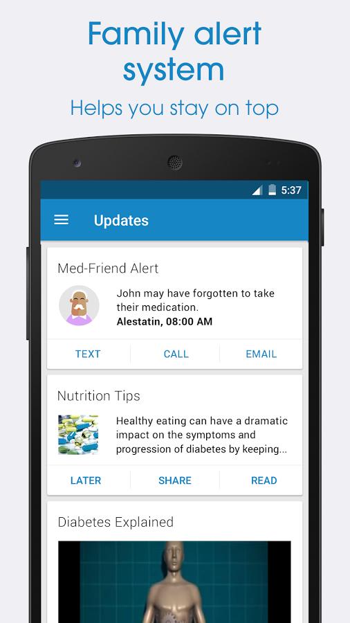 دانلود برنامه كنترل مصرف دارو در اندرويد Medisafe Meds & Pill Reminder