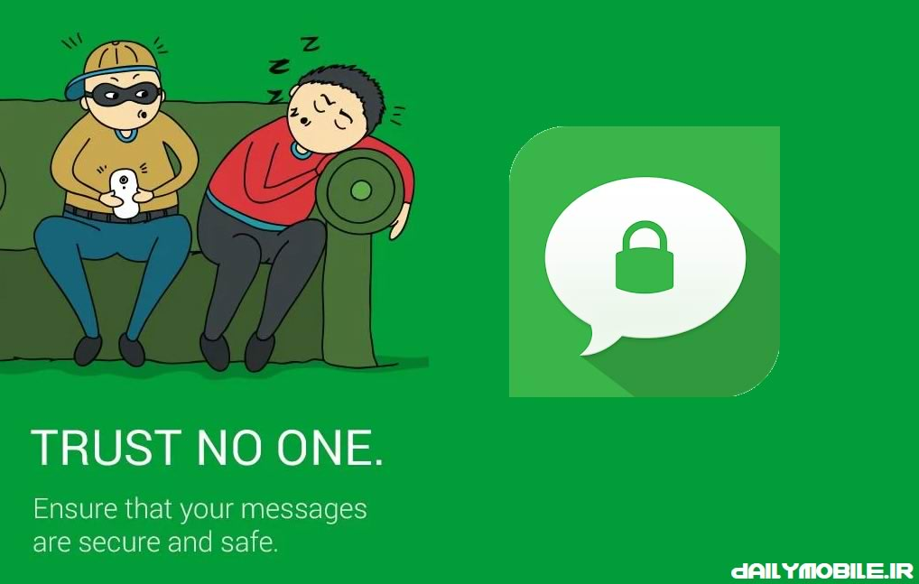 دانلود نرم افزار قرار دادن رمز بر روی مسنجر و پیامک ها  Message Locker – SMS Lock