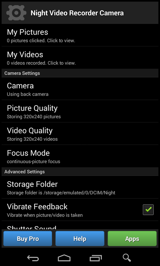 Night Vision Video Recorder2