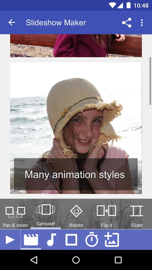 نرم افزار ساخت اسلاید شو اندروید Slideshow Maker