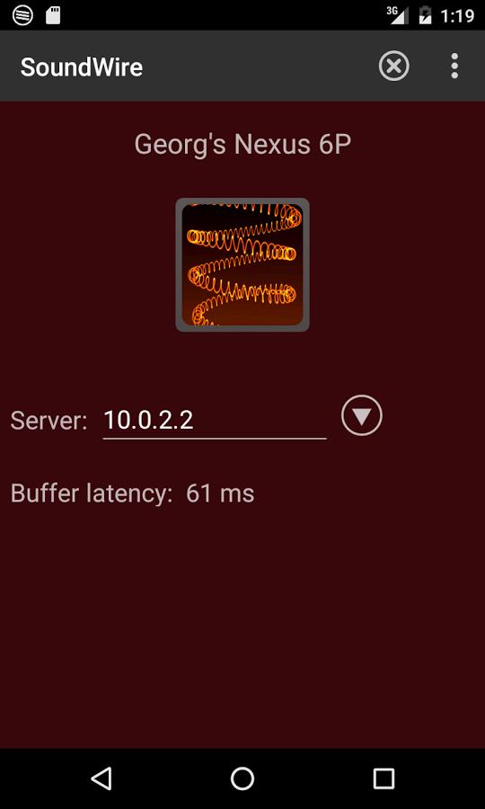 دانلود برنامه تبديل دستگاه اندرويدي به اسپيكر كامپيوتر SoundWire