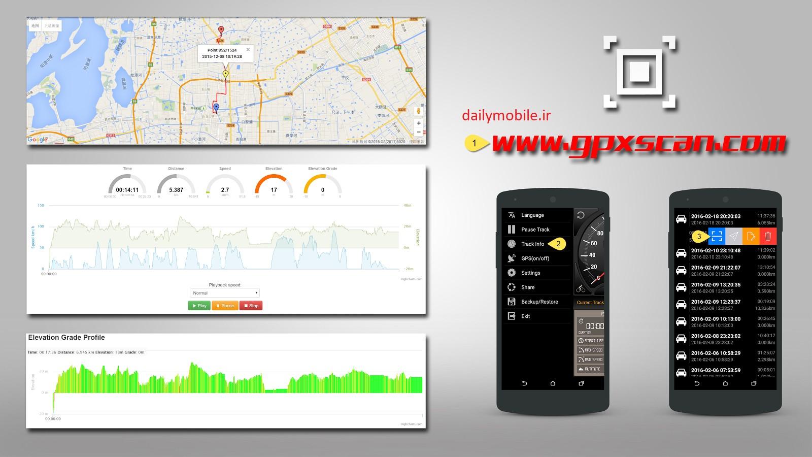 نرم افزار سرعت سنج برای اندروید Speedometer GPS Pro