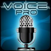 برنامه ویرایش و ضبط فایل های صوتی Voice PRO - HQ Audio Editor