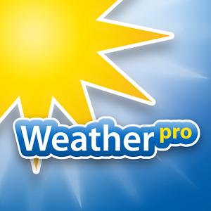 نرم افزار فوق العاده پیش بینی آب و هوا WeatherPro اندروید